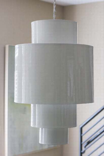 4 Tier Hanging Pendant In White Design By Couture Lamps