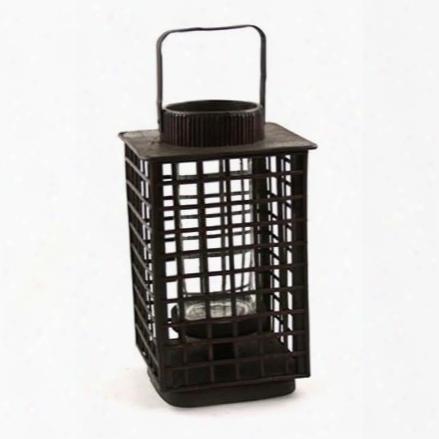 "9.5"" Square Bamboo Lantern Design By Skalny"