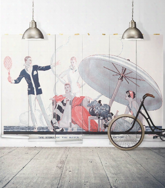 A Famous Victory Wall Mural From The Erstwhile Collection By Milton & King