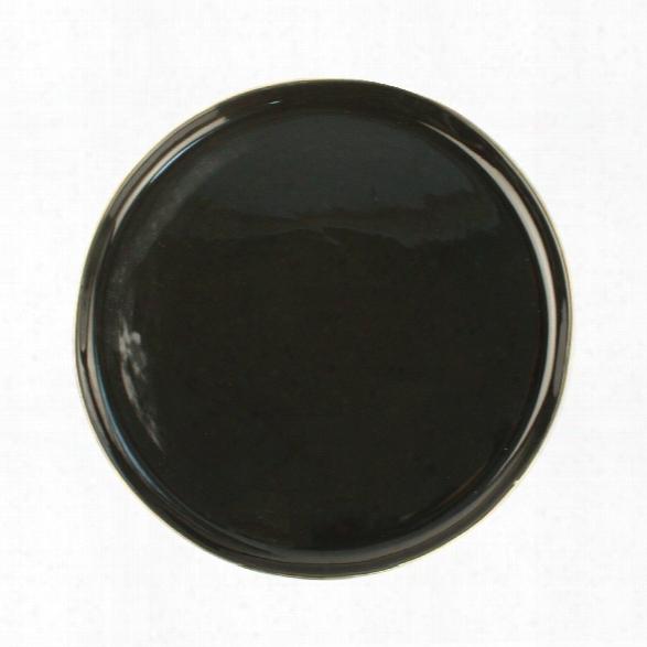 Abbesses Noir Large Plate Design By Canvas