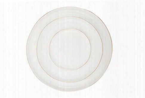 Abbesses Plates With Gold Rim By Canvas