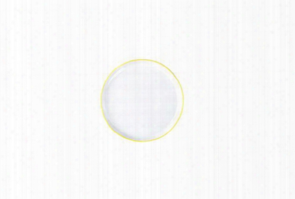 Abbesses Small Plate Yellow Rim Design By Canvas