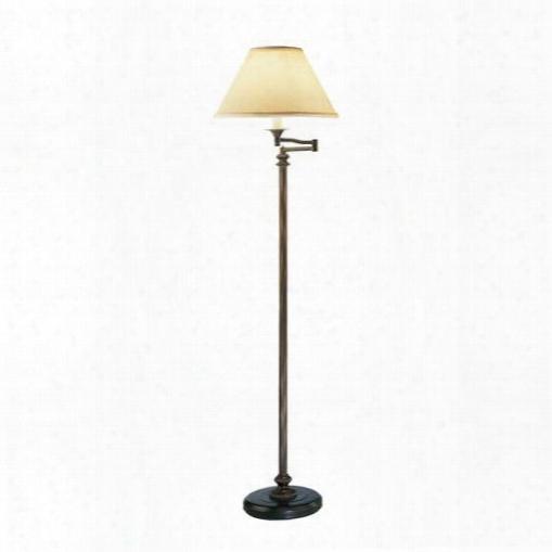 Abbey Bronze Swing Arm Floor Lamp Design By Jonathan Adler