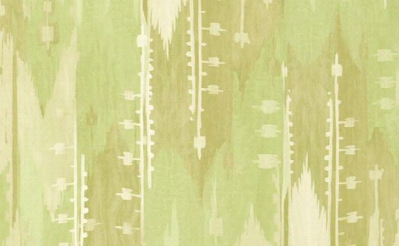 Abstract Stripes Wallpaper In Greens And Ivory Design By Seabrook Wallcoverings