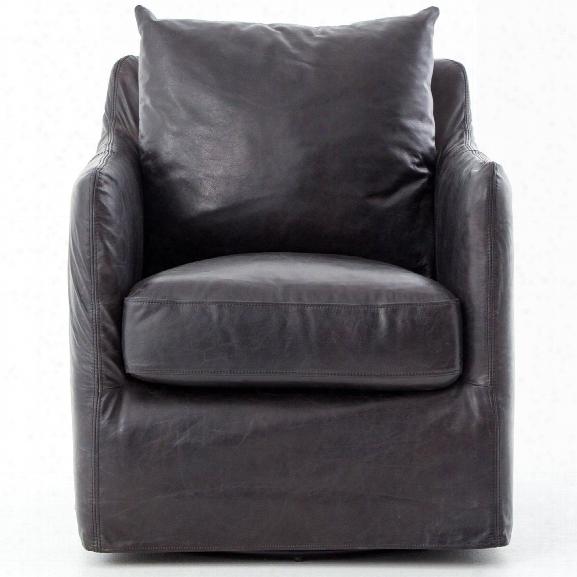 Banks Swivel Chair In Varioius Materials