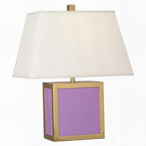 Barcelona Accent Lamp In Lavender Design By Jonathan Adler