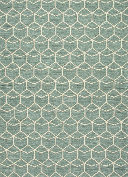 Barcelona Collection Estrellas Rug In Blue Design By Jaipur