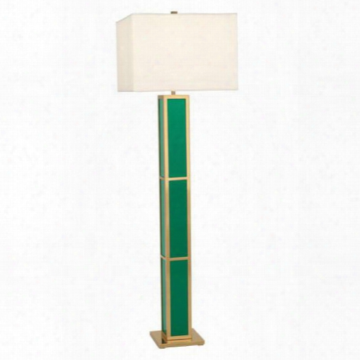 Barcelona Floor Lamp In Emerald Green Design By Jonathan Adler