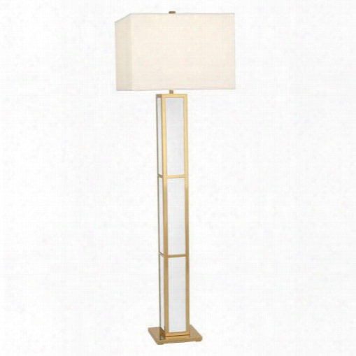 Barcelona Floor Lamp In White Design By Jonathan Adler