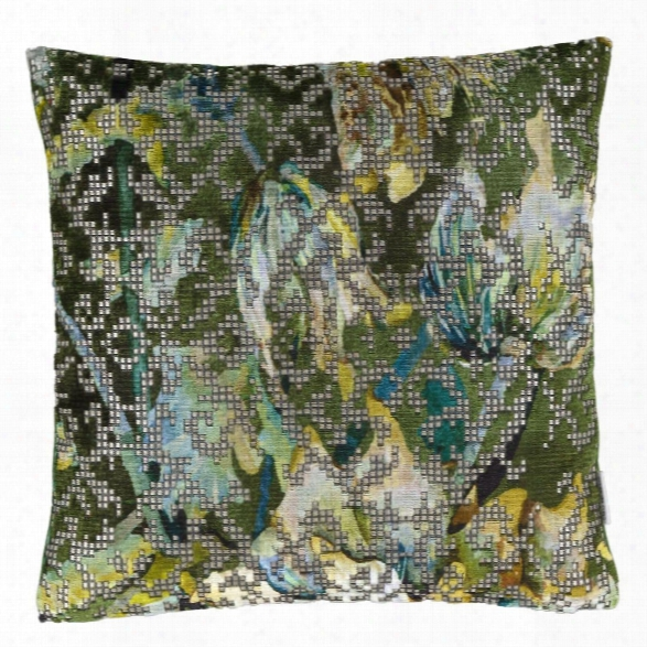Bardiglio Emerald Pillow Design By Designers Guild
