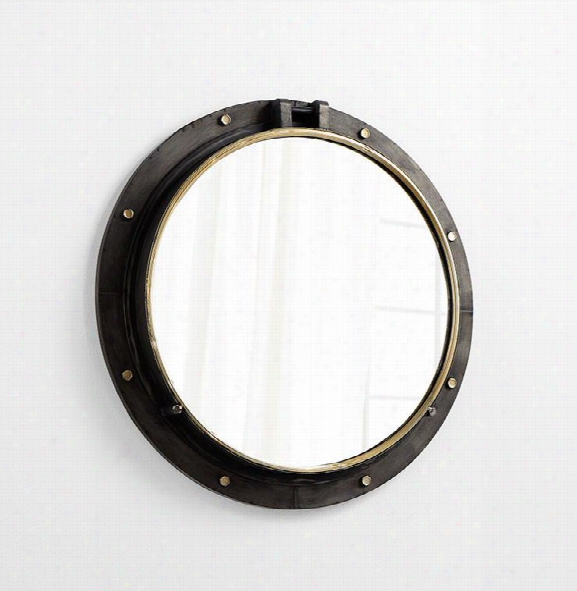 Barrel Mirror Design By Cyan Design
