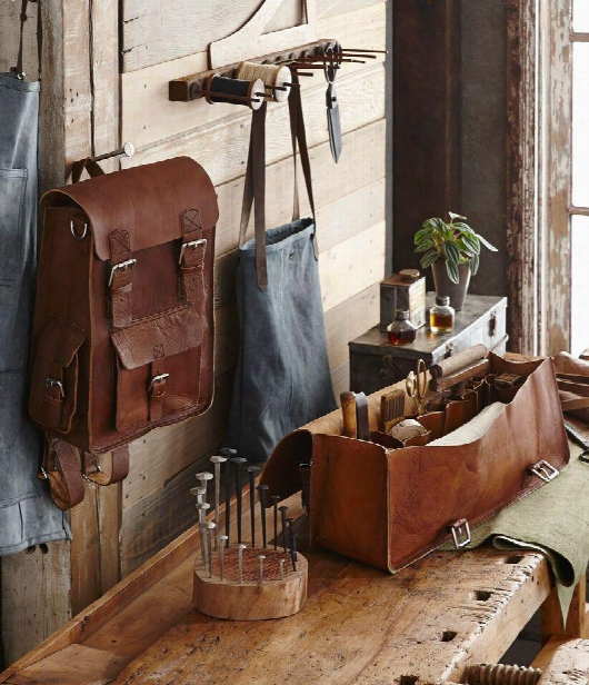 Barrett Leather Backpack