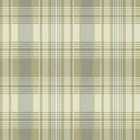 Bartola Plaid Wallpaper In Beige And Grey Design By York Wallcoverings