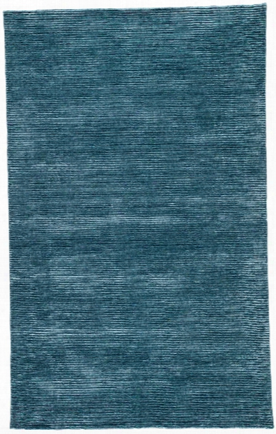 Basis Handmade Solid Indigo Area Rug Design By Jaipur