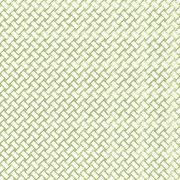 Basketweave Wallpaper In Green And White Design By Carey Lind For York Wallcoverings
