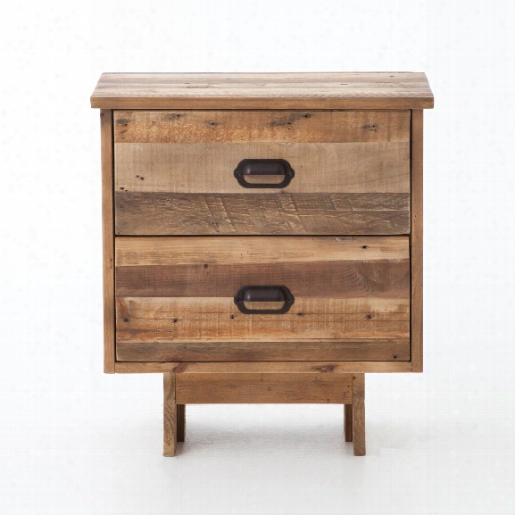 Baxter Nightstand In Rustic Natural