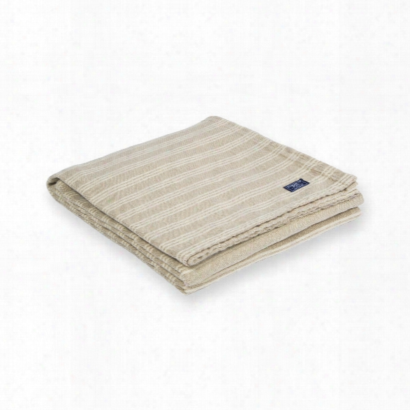 Beacon Stripe Cotton Throw Design By Faribault