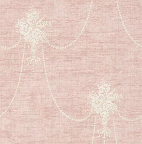 Beaded Bouquet Wallpaper In Blush From The Vintage Home 2 Collection By Wallquest