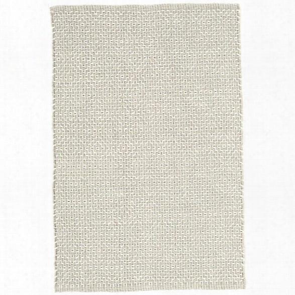 Beatrice Grey Woven Cotton Rug Design By Dash & Albert