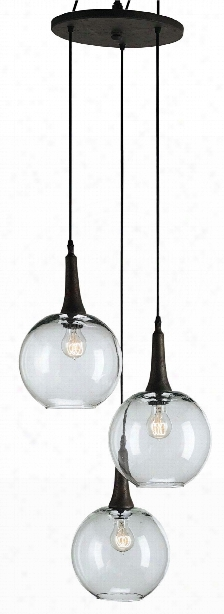 Beckett Trio Pendant Design By Currey & Company