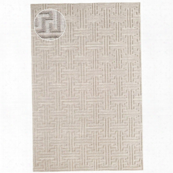 Beekman Zinc Jacquard Loom Knotted Rug Design By Dash & Albert