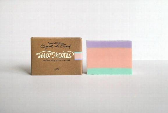 "Esprit De Peach"" Glycerin Soap Design By Wary Meyers"