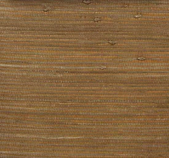Sample Heavy Jute Wallpaper In Brown And Caramel From The Winds Of The Asian Pacific Collection By Burke Decor