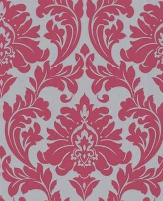 Sample Majestic Wallpaper In Pink And Grey Wallpaper By Graham And Brown