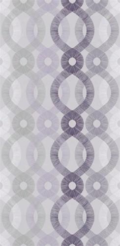 Sample Of Spiro Wallpaper In Light Purple And Multi - Kreme