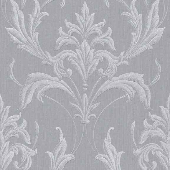 Sample Oxford Wallpaper In Silver And Grey From The Essence Collection By Graham & Brown