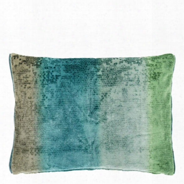 Santafiora Aqua Pillow Design By Designers Guild