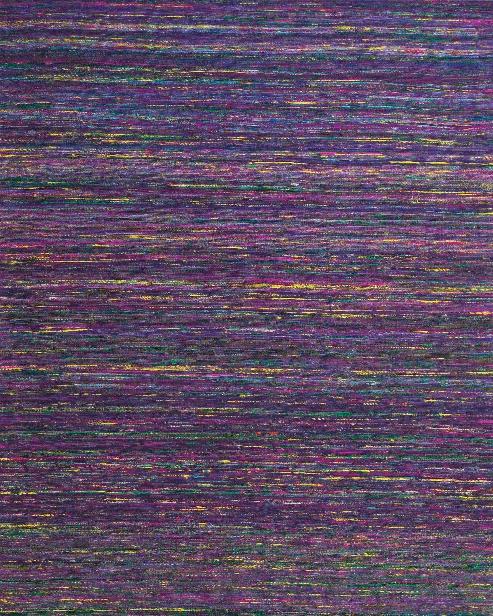 Sari Collection Art Silk Area Rug In Purple By Bd Fine