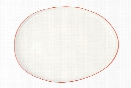 Abbesses Platter in Red in Various Sizes design by Canvas