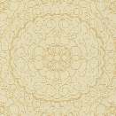 Sample Karma Wallpaper in Beige design by Candice Olson for York Wallcoverings