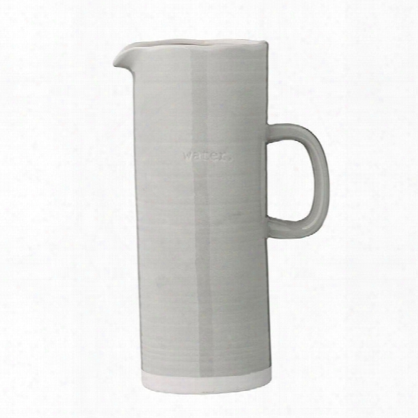 "Water"" Embossed Water Pitcher Design By Bd Edition"