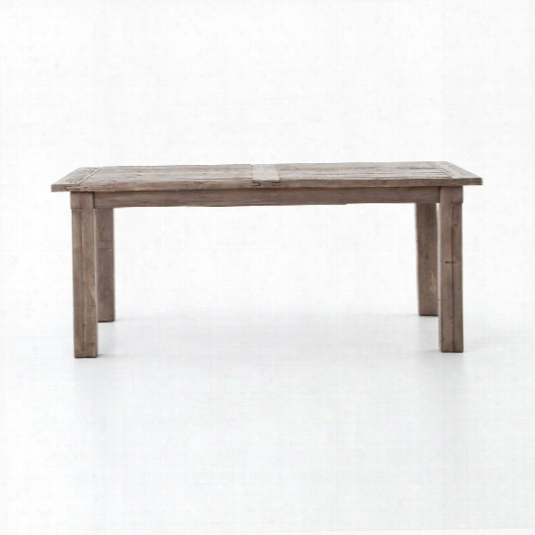 Cintra Butterfly Extension Magnetic Dining Table In Rustic Sundried Ash