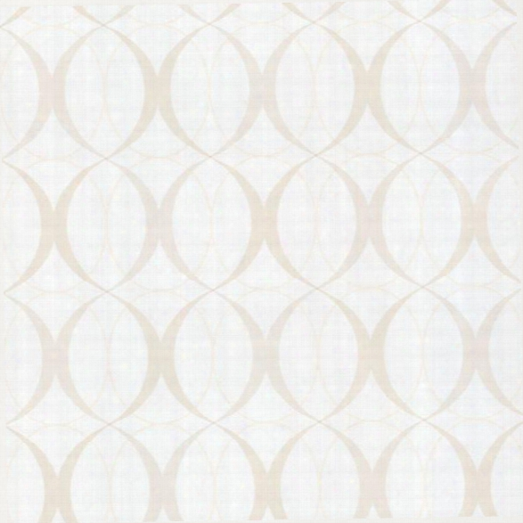 Circulate Pearl Retro Orb Wallpaper Design By Brewster Home Fashions