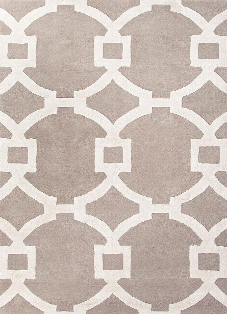 City Collection Regency Rug In Ashwood & White Design By Jaipur