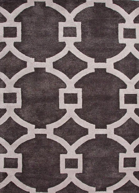 City Collection Regency Rug In Liquorice Design By Jaipur