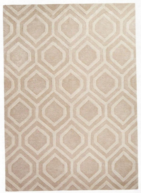 City Rug In Oxford Tan & Turtle Dove Design By Jaipur