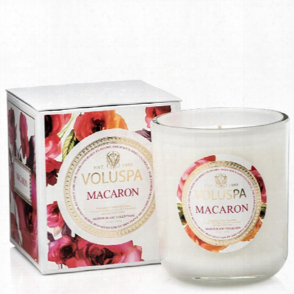 Classic Maison Candle In Macaron Design By Voluspa