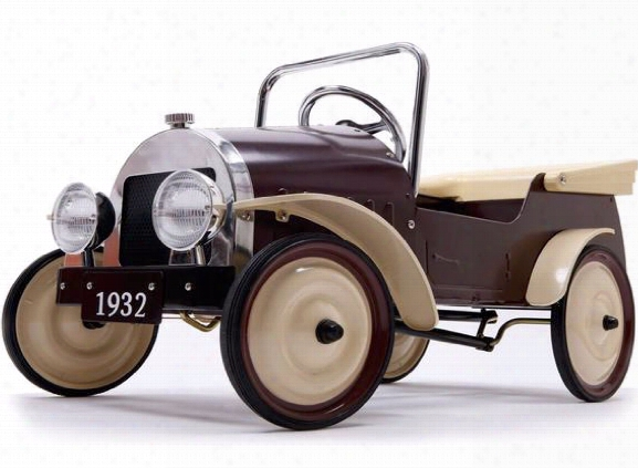 Classiic Pedal Car Country In Brown Design By Bd