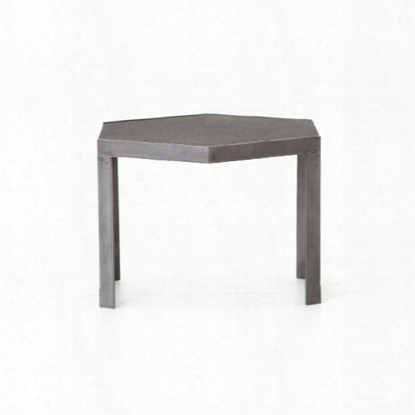 Clint Bunching Table In Honed Black Ash Granite