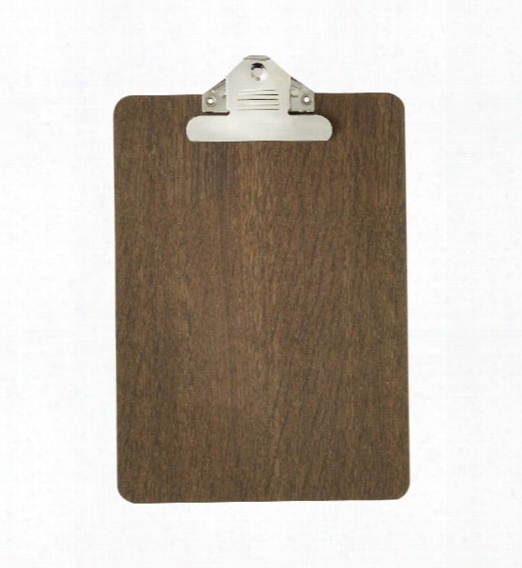 Clipboard In Smoked Oak Design By Ferm Living