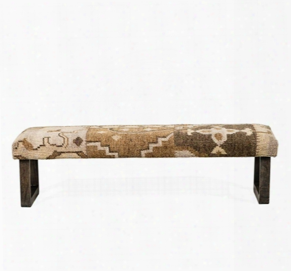 Clover Kilim Bench Design By Interlude Home