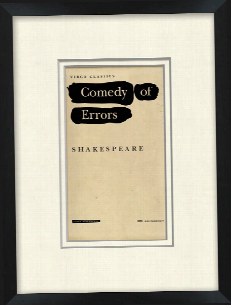 Comedy Of Errors Wall Art Design By Kate Spade