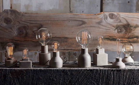 Concrete Architectural Lamps Design By Roost