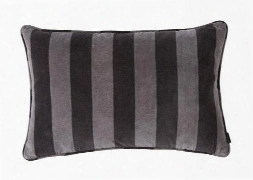 Confect Cushion In Asphalt & Dark Grey Design By Oyoy