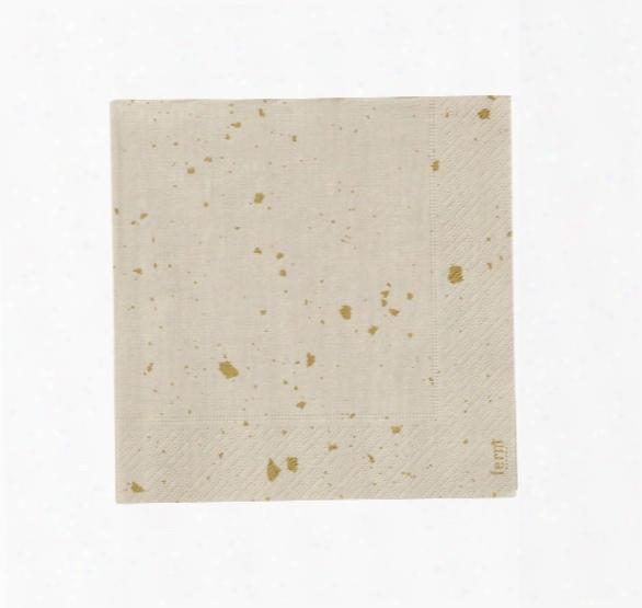 Confetti Paper Napkins In Rose Design By Ferm Living
