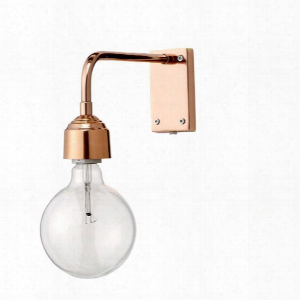 Copper Finish Wall Lamp Design By Bd Edition